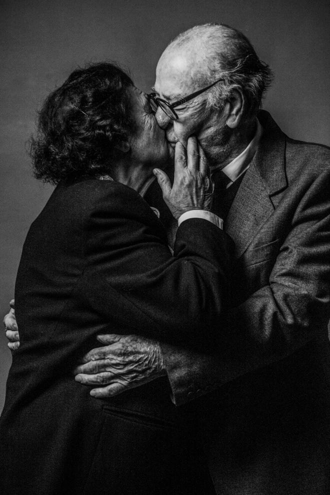 Giovanbattista e Concetta, 66 anni di matrimonio