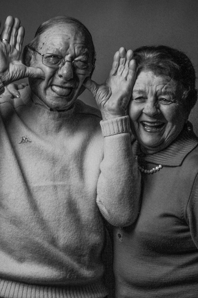Giacomo e Rita, 63 anni di matrimonio