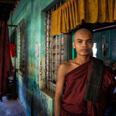 Monk's Private Life - Myanmar