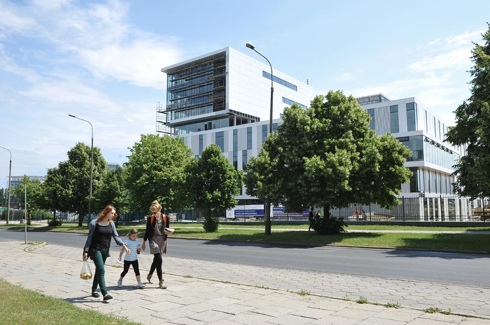 Gdańsk, Danzica, Polonia 2013. Il quartiere universitario.